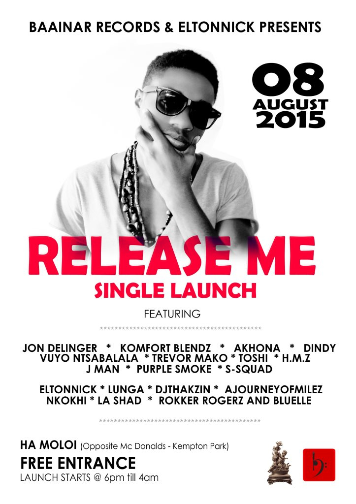 Release Me Party - Flyer front