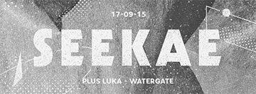 Seekae Live - Flyer front