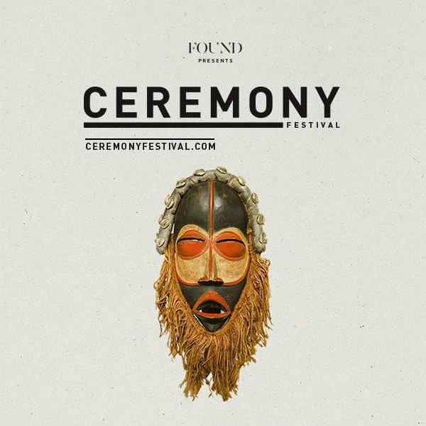 Ceremony Festival 2015 - Flyer front