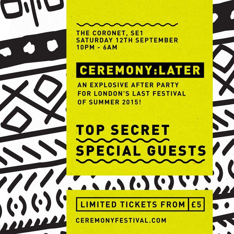 Ceremony Festival 2015 - Flyer back
