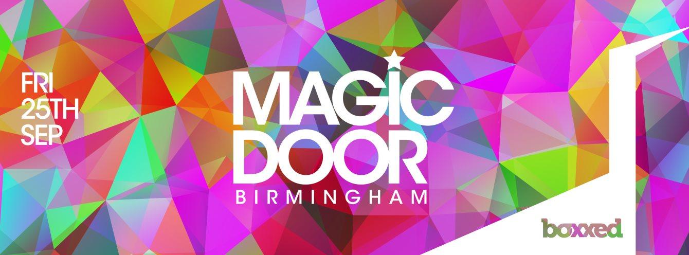 Magic Door - Boxxed - Birmingham - Flyer front