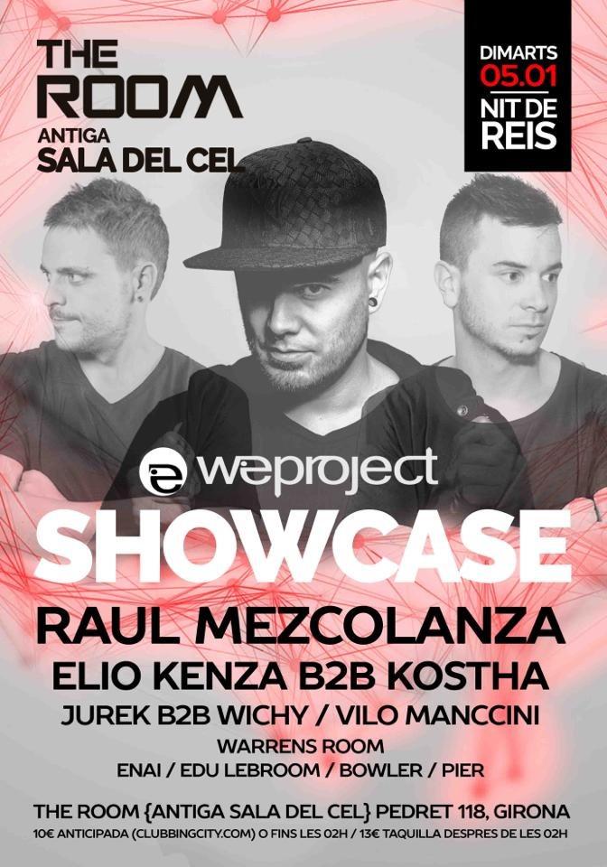 We Project Showcase Nit De Reis - Flyer front