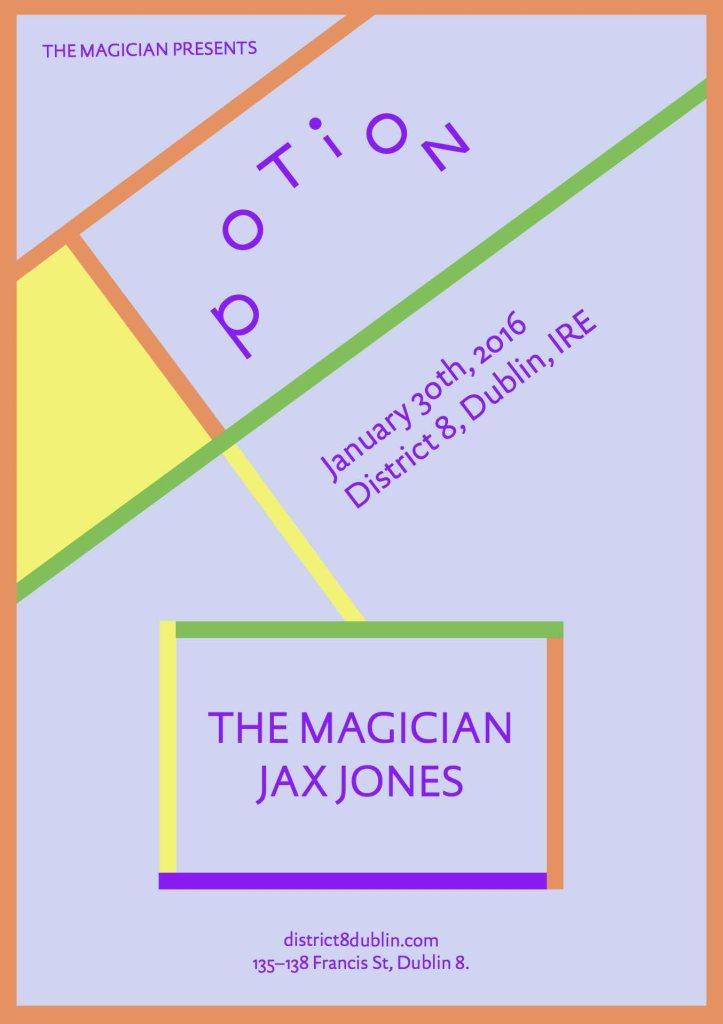 The Magician & Jax Jones - Flyer front