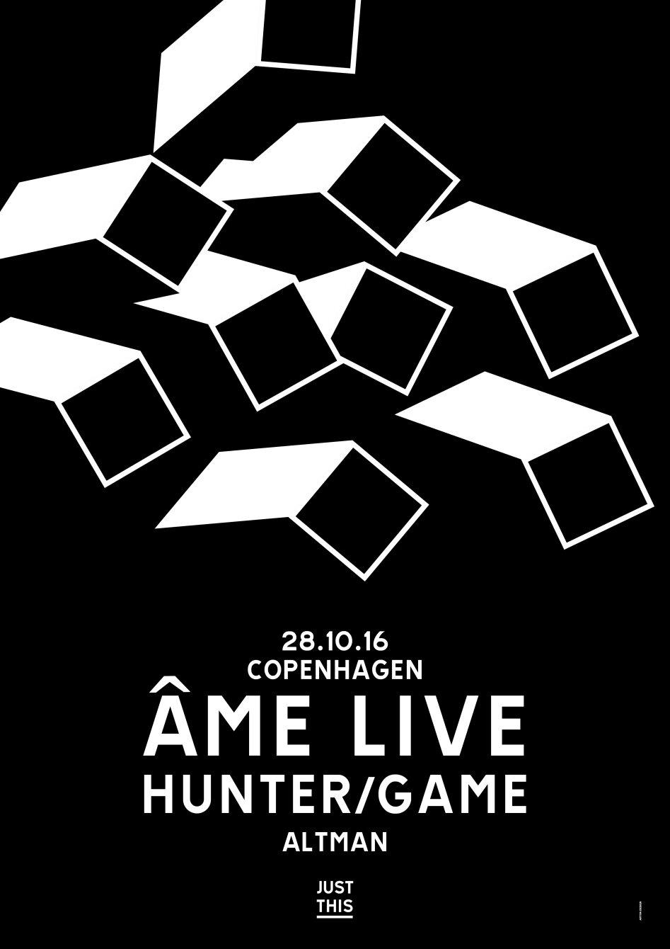 Just This, Âme & Hunter/Game - Flyer back