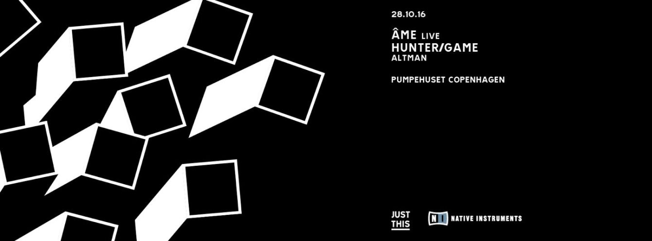 Just This, Âme & Hunter/Game - Flyer front