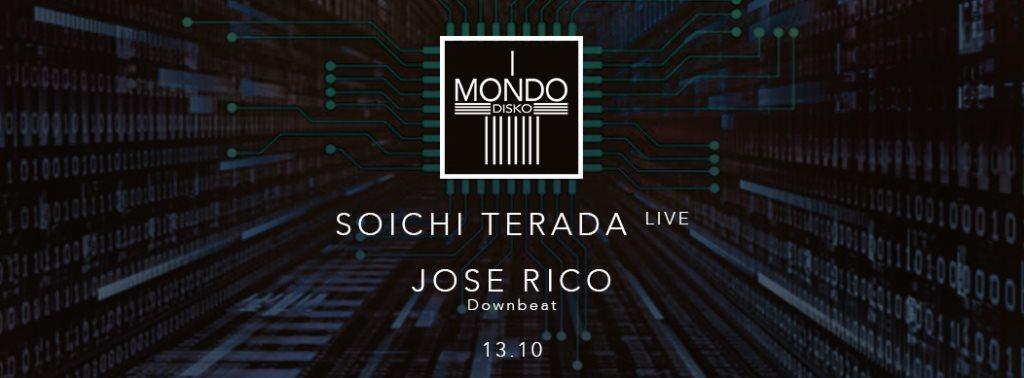 Soichi Terada Live, Jose Rico - Flyer front