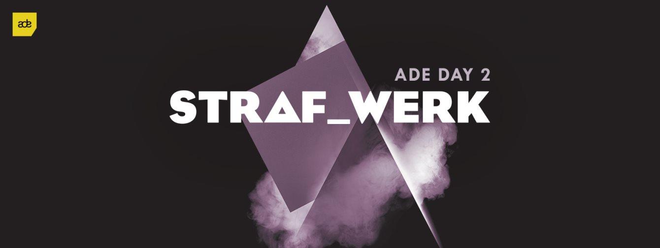 Straf_werk - ADE Day 2 - Knee Deep In Amsterdam X PIV Records - Flyer front