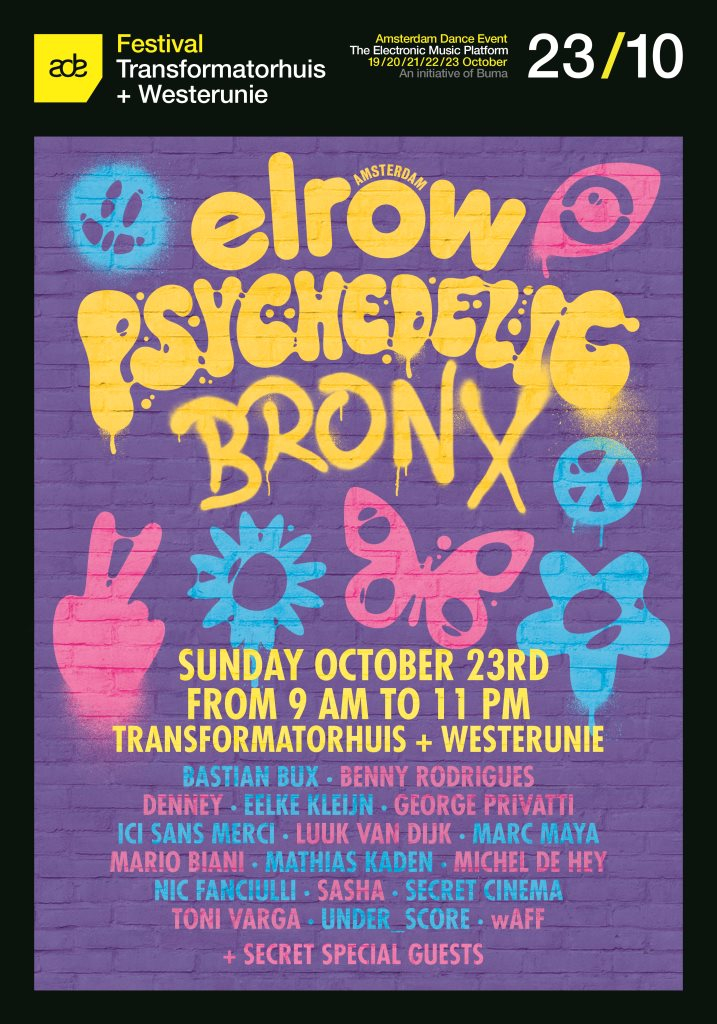 Elrow presents ADE After Hours Madness - Flyer front
