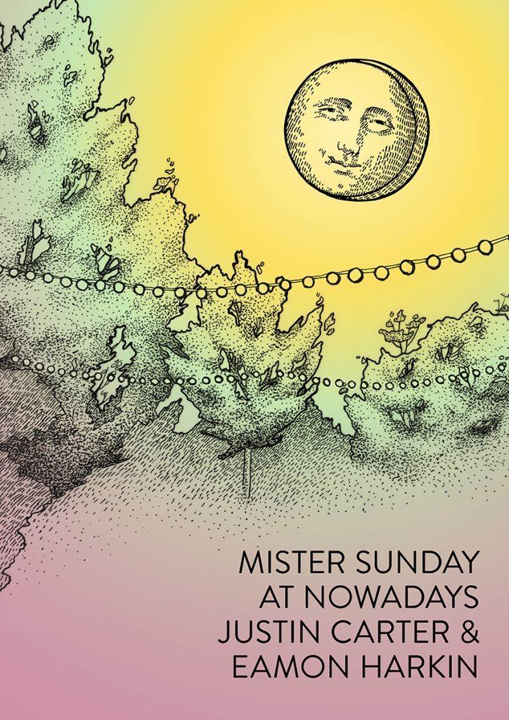 Mister Sunday Outdoor Season Closer - Flyer back