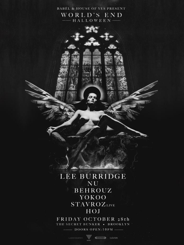 World's End Halloween with Lee Burridge & Friends - Flyer front