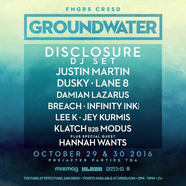 Fngrs Crssd presents: Groundwater - Flyer front