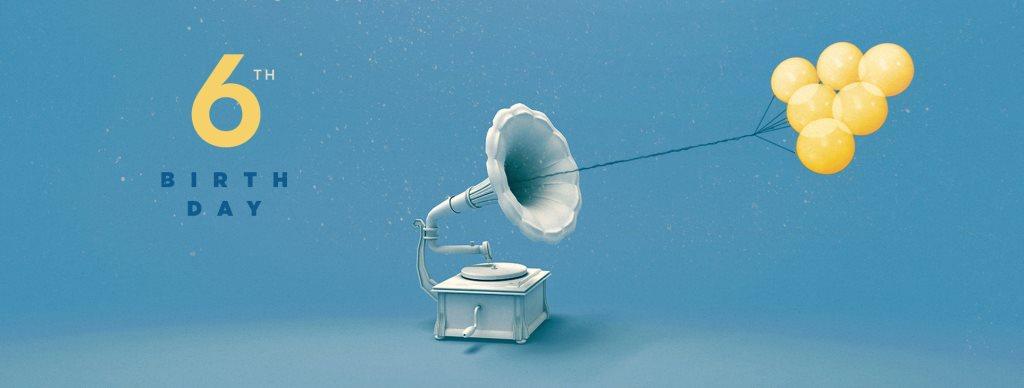 Phonographe Corp - 6 Ans with Finn Johannsen & Batu - Flyer back