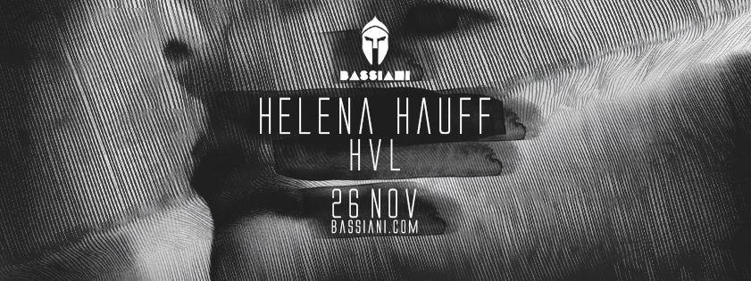 Helena Hauff - Flyer front