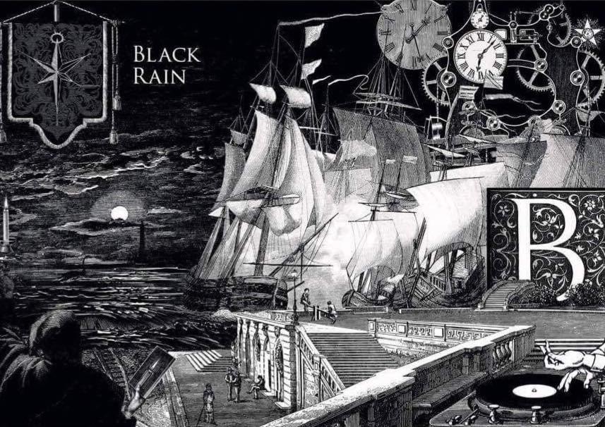 Black Rain -011- - Flyer front