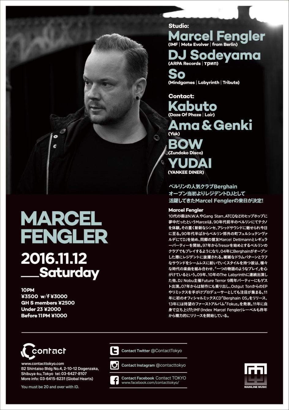 Marcel Fengler - Flyer back