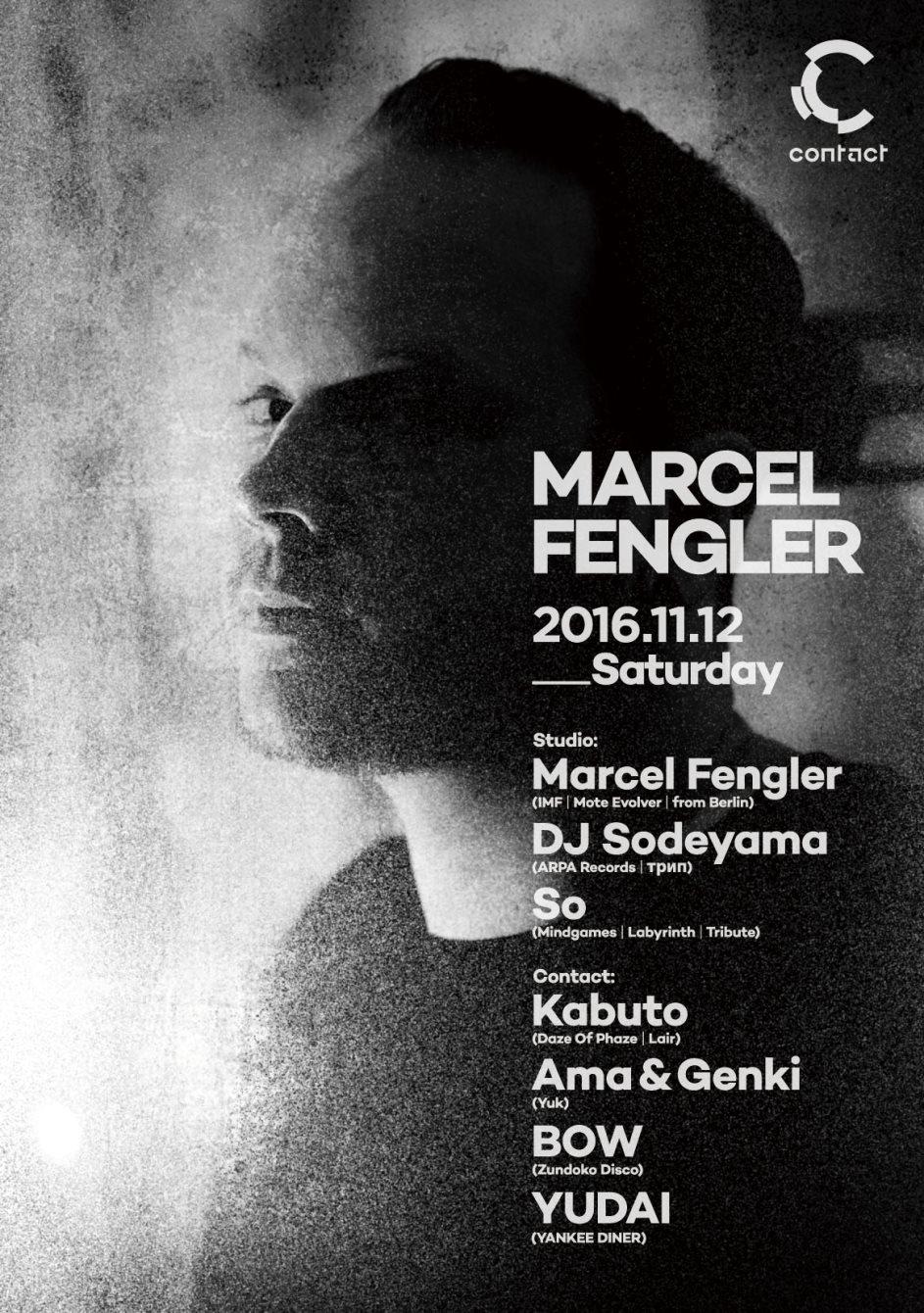 Marcel Fengler - Flyer front