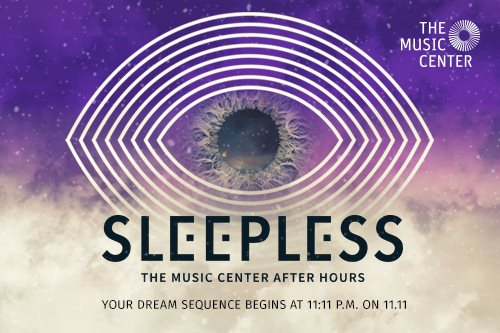 Sleepless: The Music Center After Hours - Flyer front