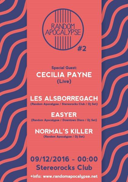 Random Apocalypse #2 - Flyer front