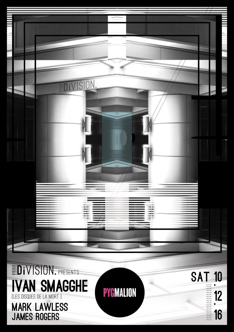 Division: Ivan Smagghe - Flyer back