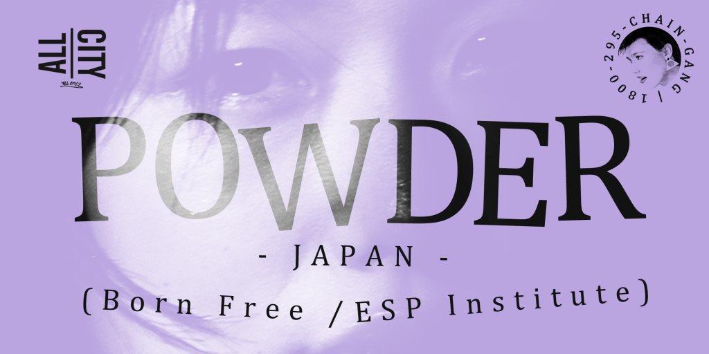 Powder & Cailín Live - Flyer front