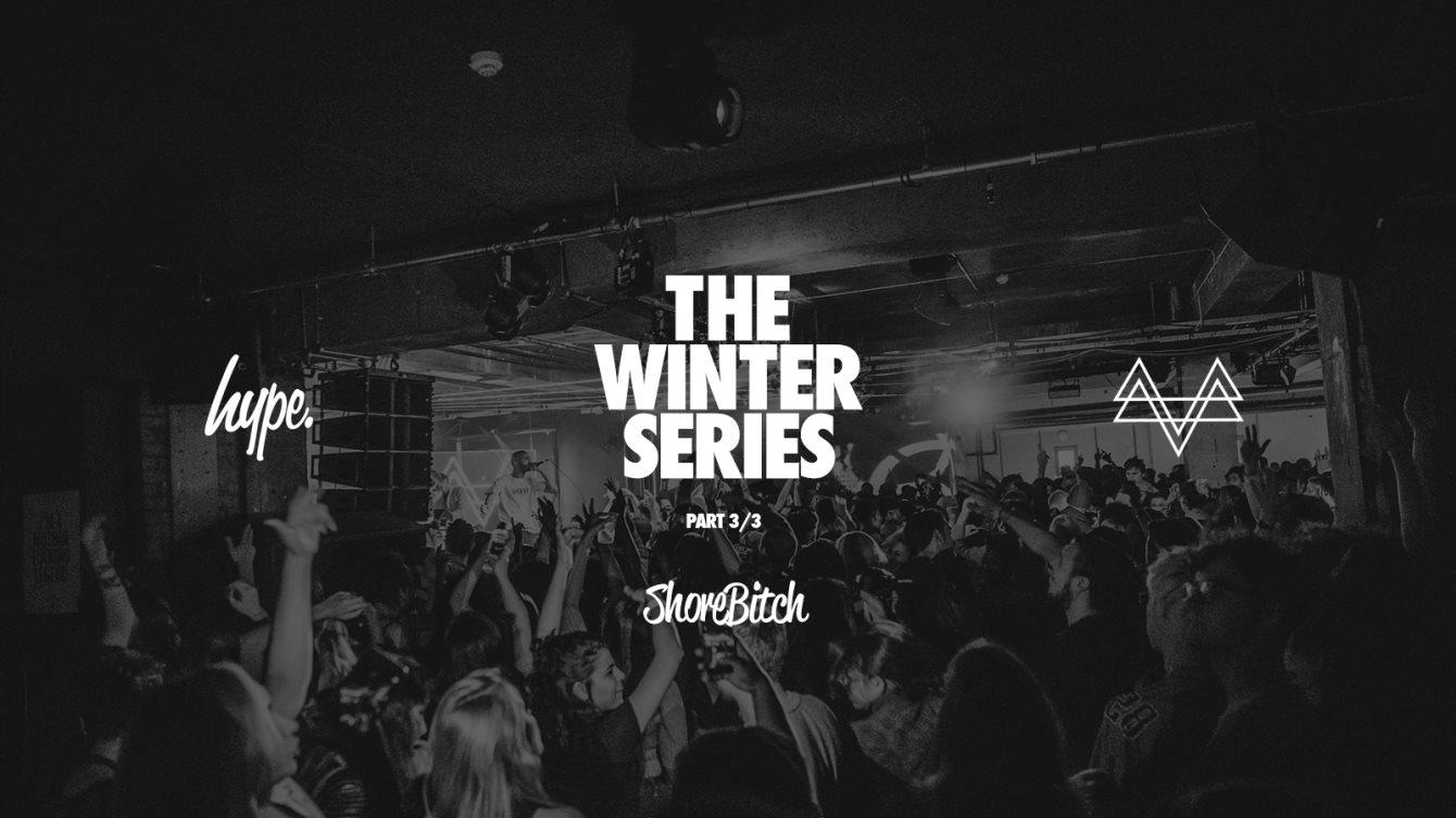 Shorebitch, The Winter Series - PT. 3/3 - Flyer front