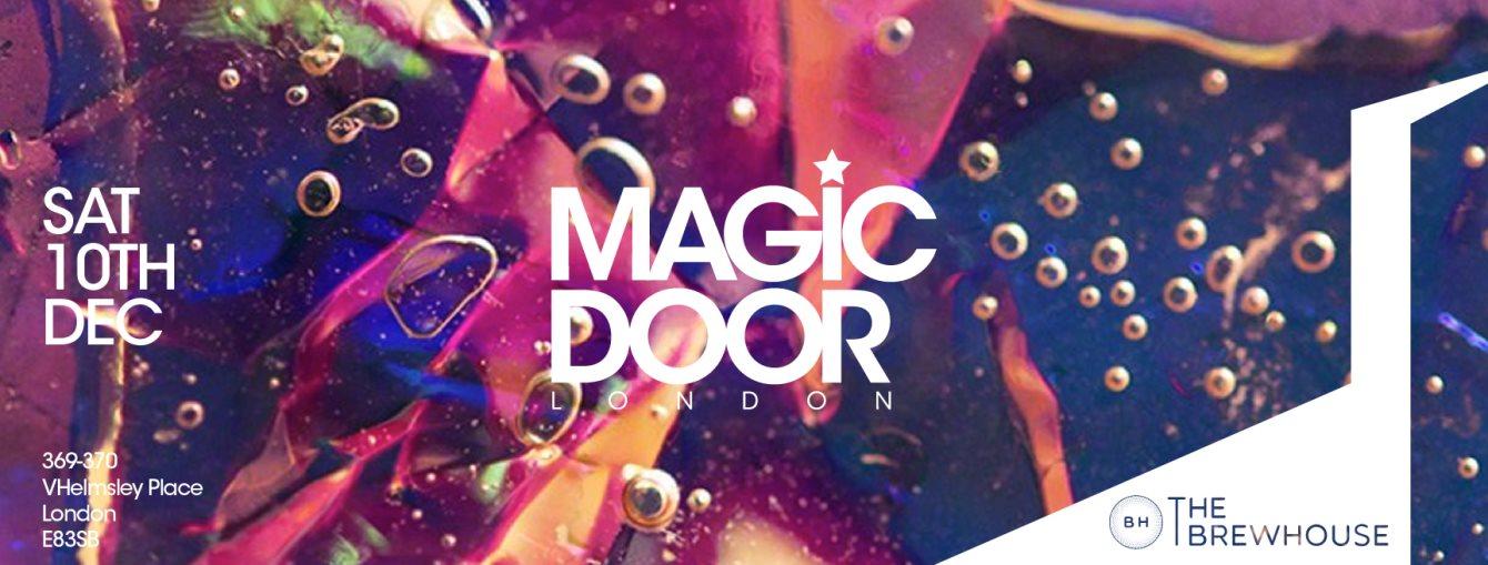 Magic Door - London - Flyer front