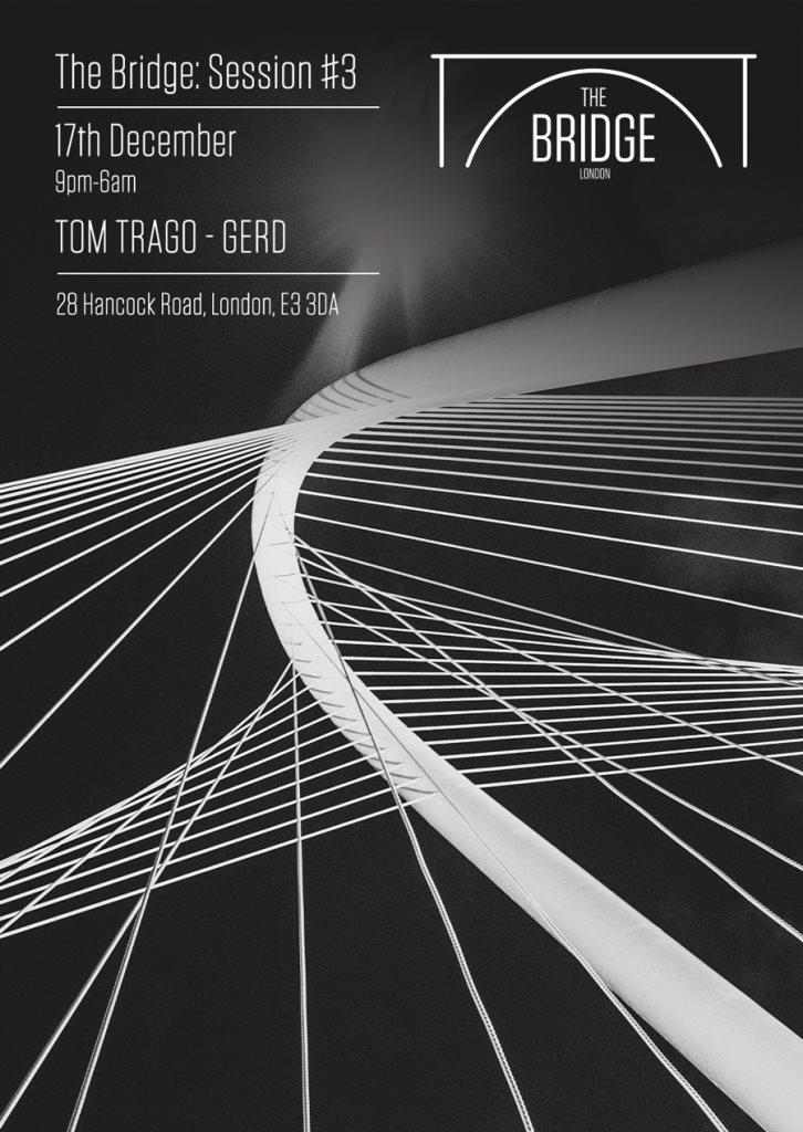 Session #3: Tom Trago & Gerd - Flyer front