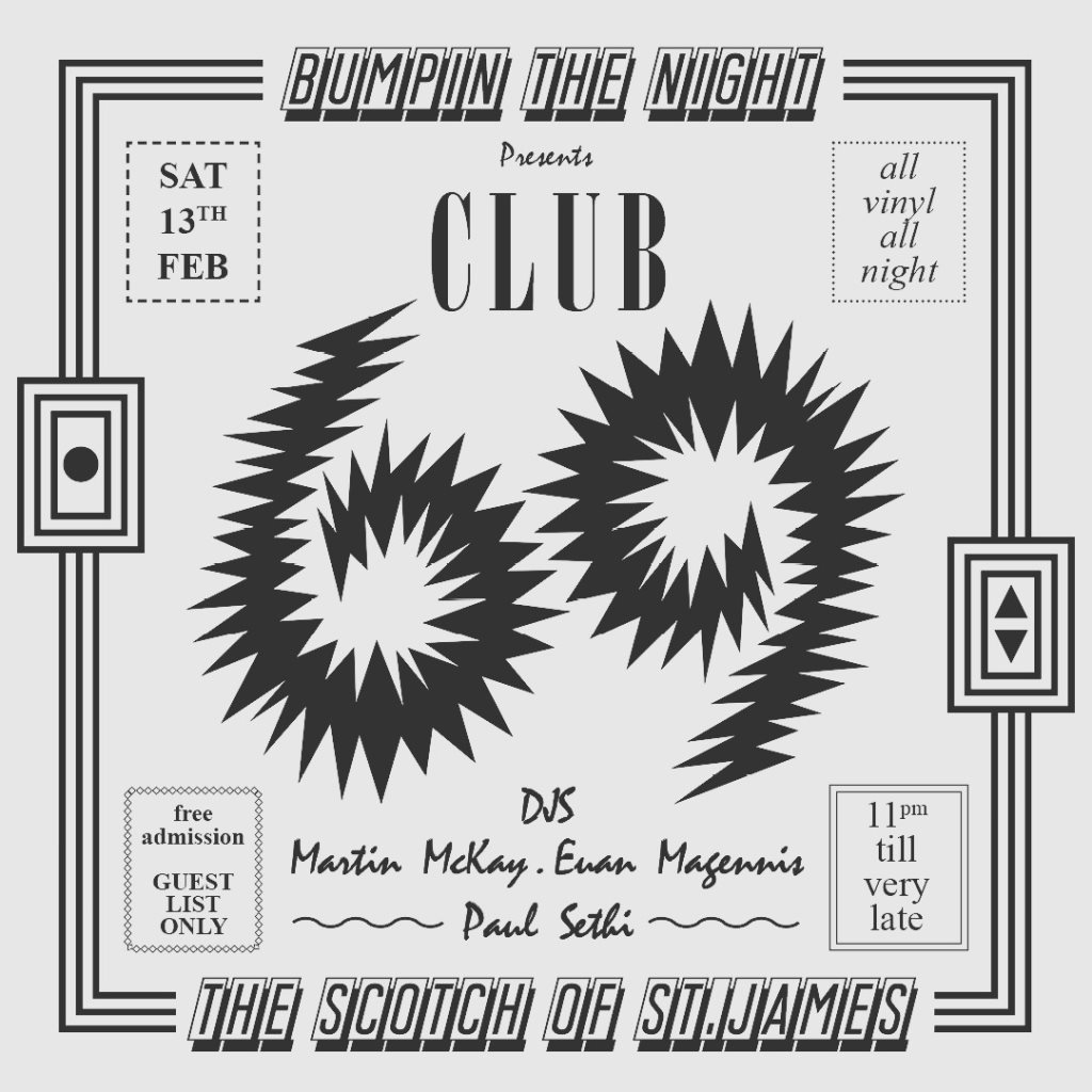 Bumpin The Night presents - Club 69 - Flyer front