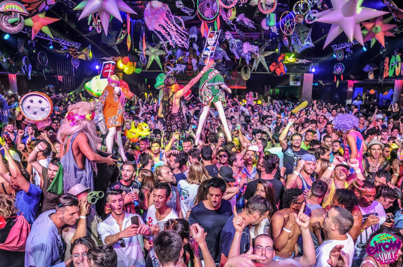 Elrow presents 'The Trip - Flyer front