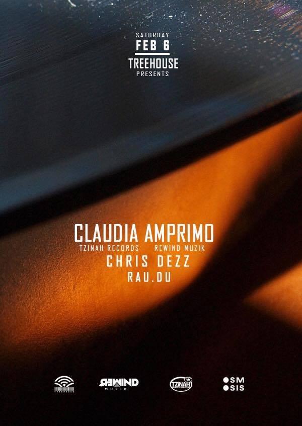 Patrick M & Claudia Amprimo - Flyer back