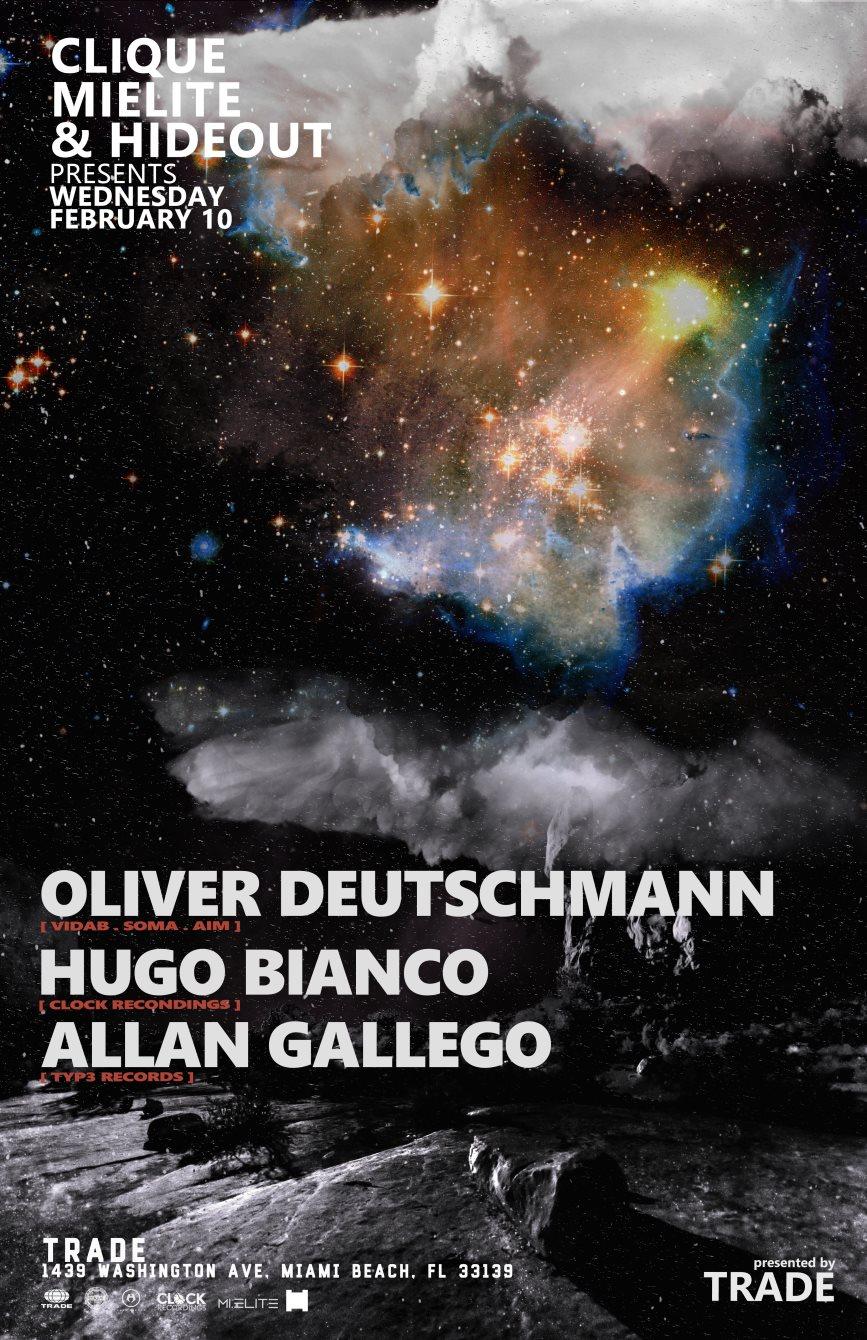 Oliver Deutschmann by Hideout & Mi.Elite - Flyer front