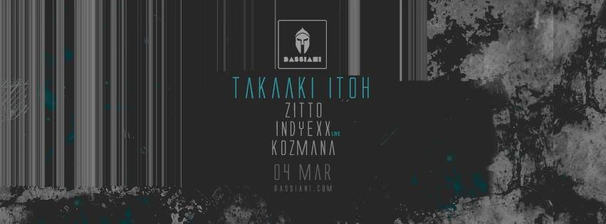 Takaaki Itoh - Flyer front