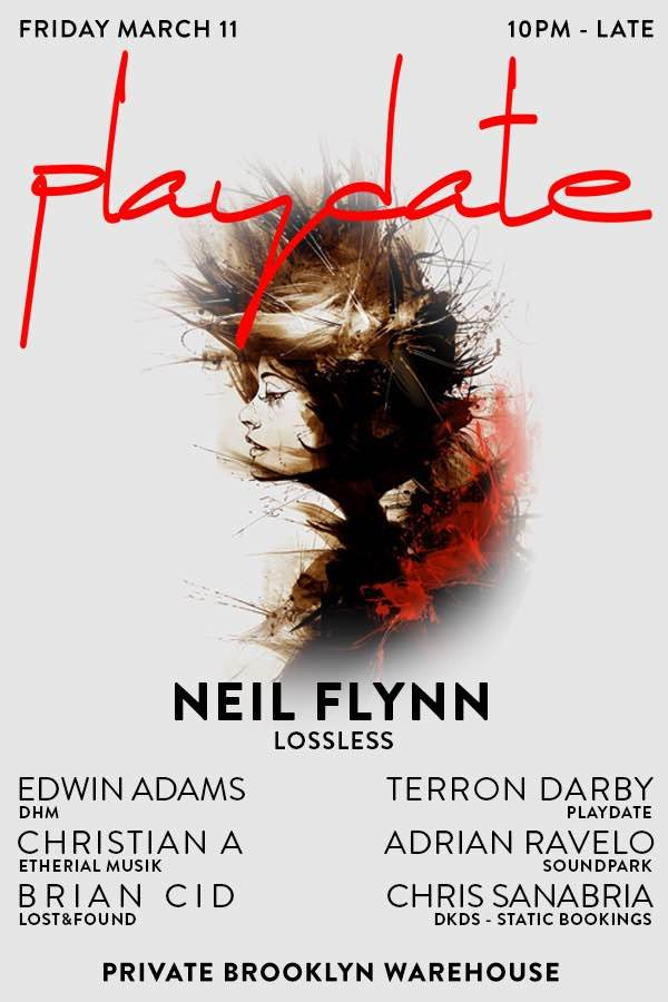 Playdate 3.11 - Flyer front