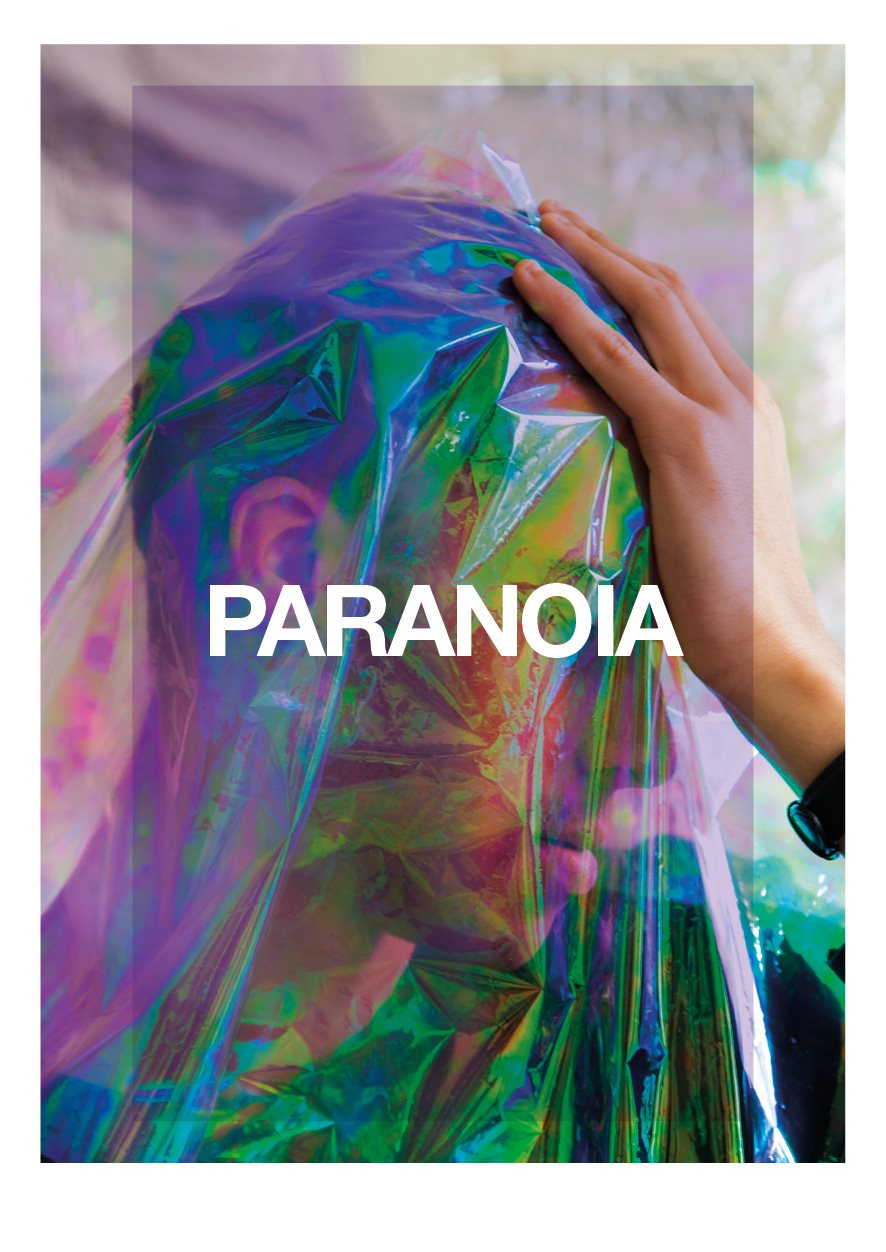Paranoia with Wolfgang Voigt, Dr Walker & Many More - Flyer front