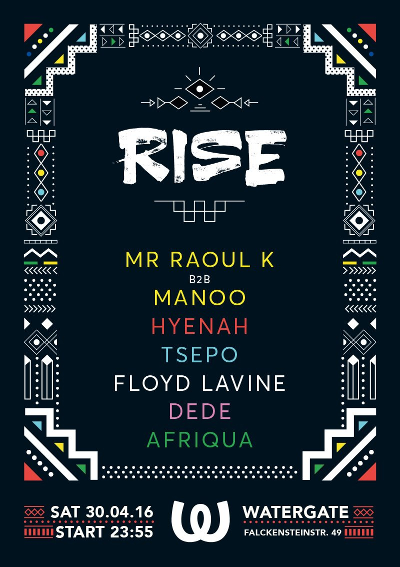 Rise - Flyer front