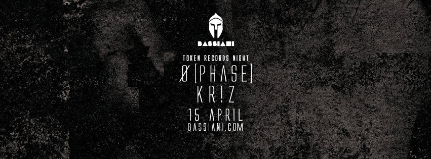 Token Night with Ø [Phase] & Kr!z - Flyer front