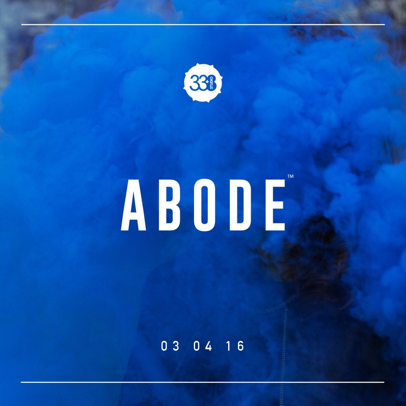 ABODE April - Terrace Takeover - Flyer front