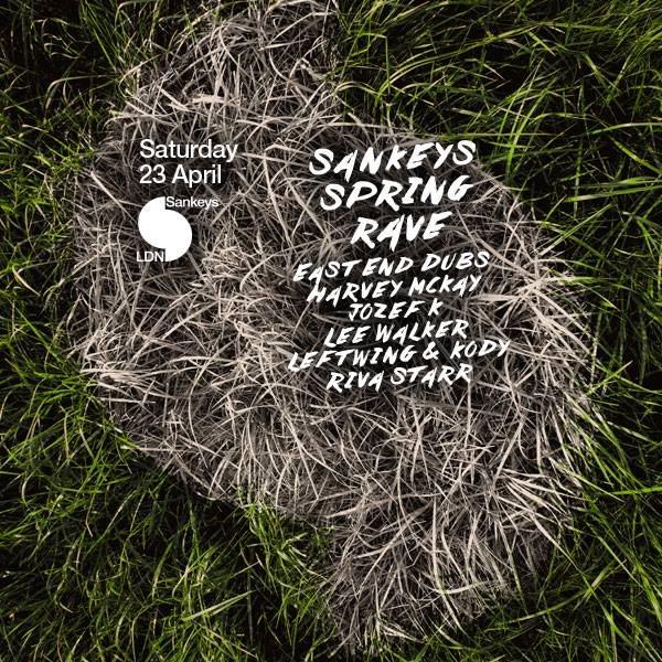 Sankeys 'Spring Rave (all Day/all Night) - Flyer front