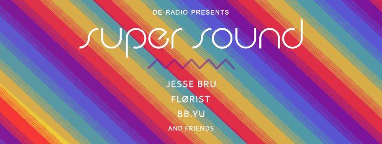 Super Sound Vol.1  - Flyer front