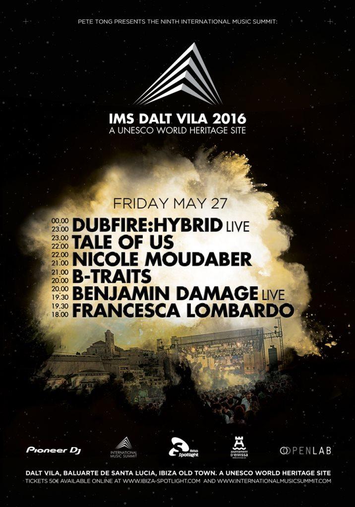 IMS Dalt Vila 2016 - Flyer front
