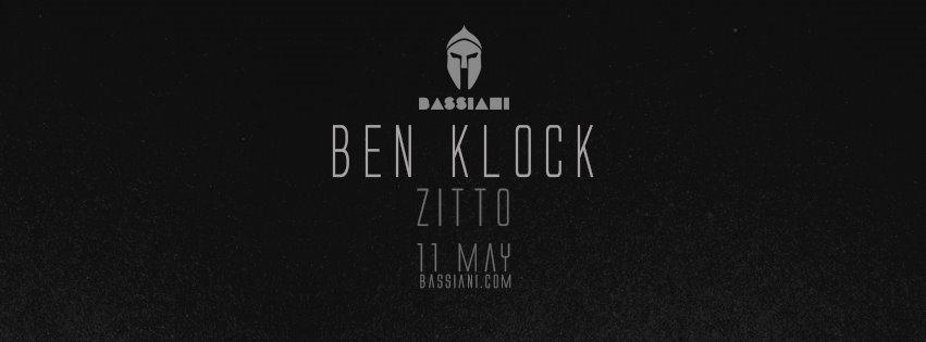 Ben Klock - Flyer front