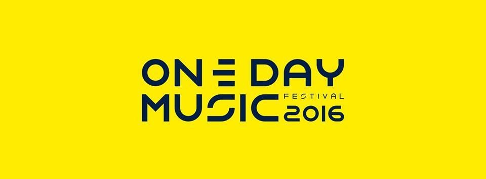 One Day Music 2016 - Flyer front