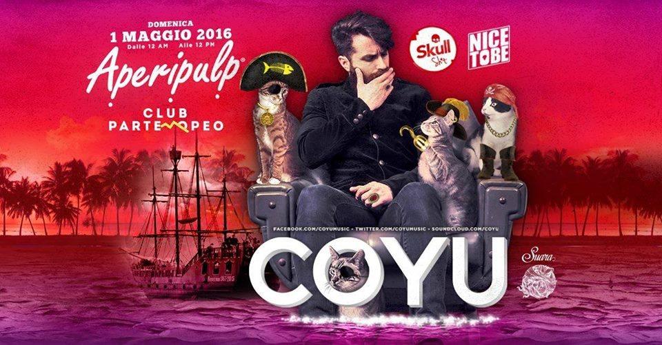 Aperipulp 'World Pirates' 1 Maggio 2016 w/ Coyu (Suara) - Flyer front