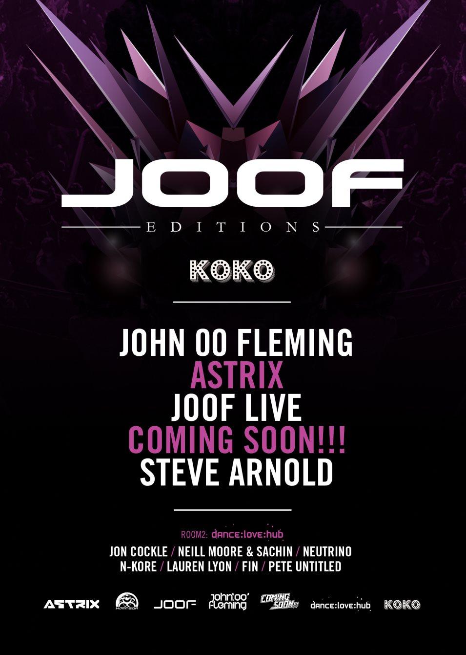 Joof Editions - Flyer back
