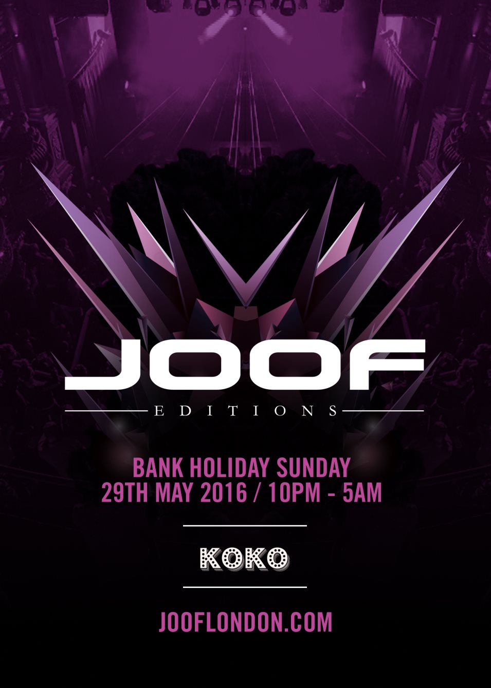 Joof Editions - Flyer front