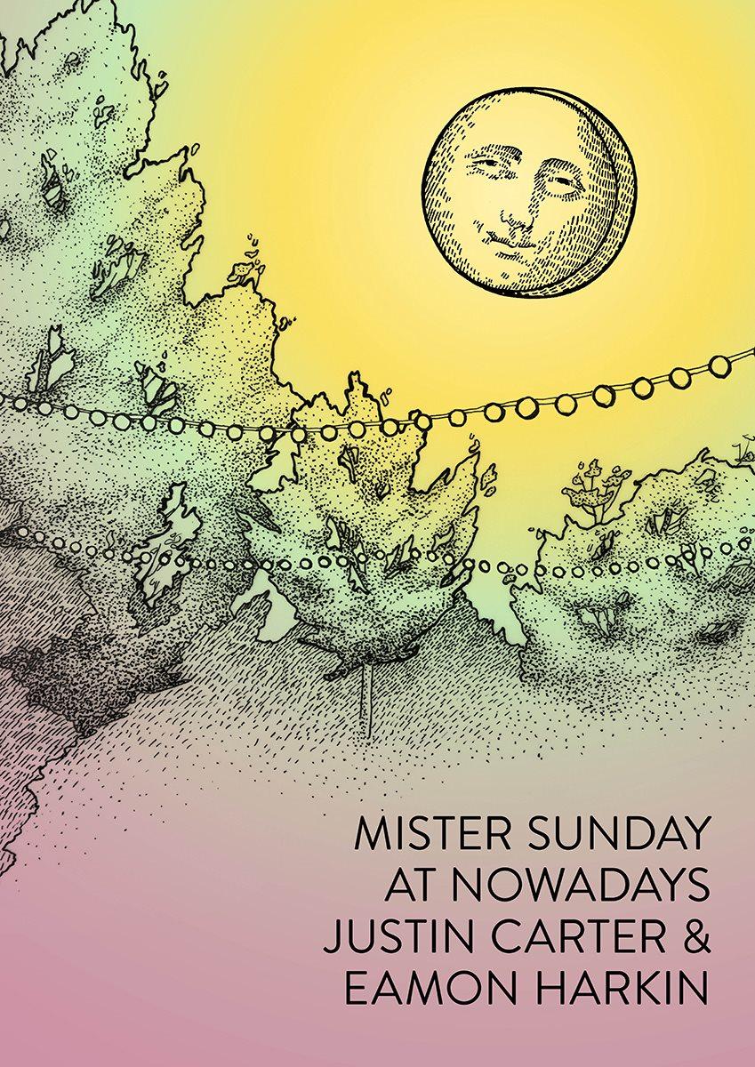 Mister Sunday - Flyer back
