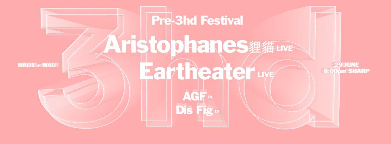Pre-3hd Festival - Flyer front