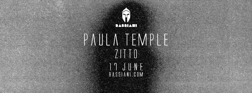 Paula Temple - Flyer front