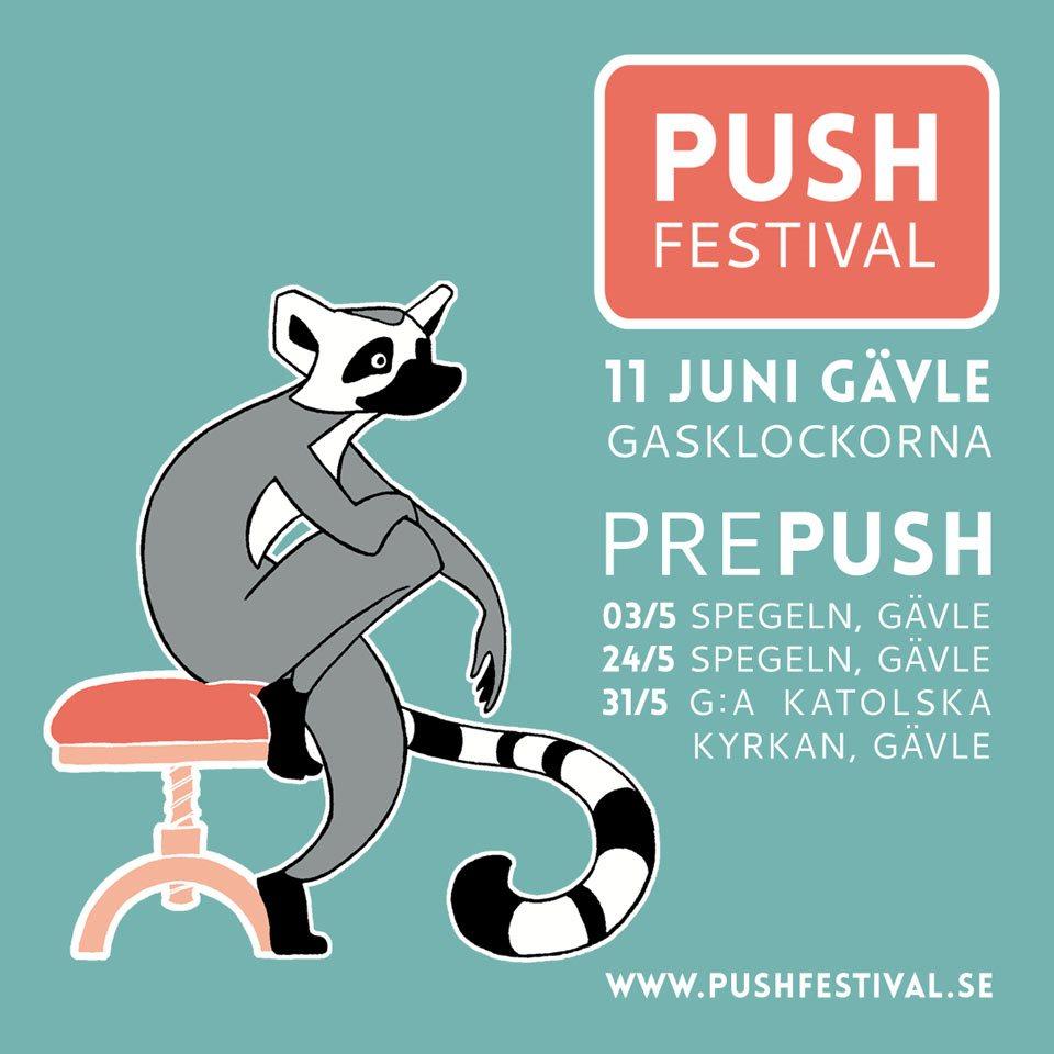 Push Festival 2016 - Flyer front
