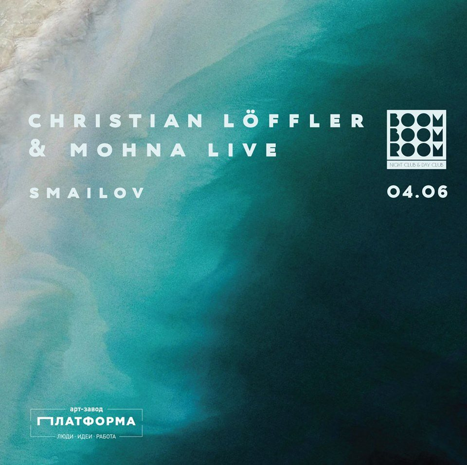 Christian Löffler Live with Mohna - Flyer front